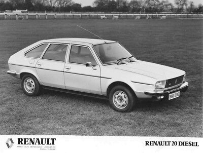 1981 Renault 20 Diesel ORIGINAL Factory Photo oac1307