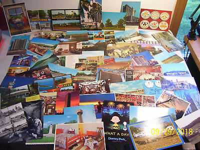 Mixed Lot of Old Assorted Unused & Used U.S. & Worldwide Postcards (READ AD)