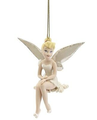 New - 2018 Annual Lenox Disney's Snowflake Tinker Bell Ornament - Christmas