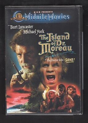 The Island of Dr. Moreau (DVD, 2001)
