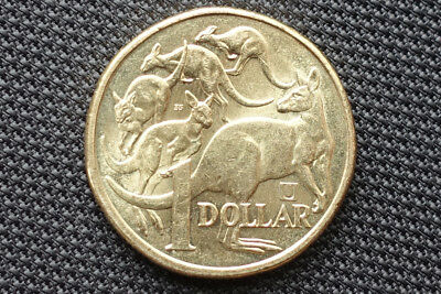 "2019 $1 One Dollar Mob of Roos Privy Mark ""U"""