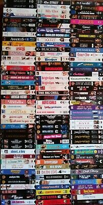 You Pick-Vhs Lot Of 10 For $12-Mixed Genres-Next Day Free Shipping