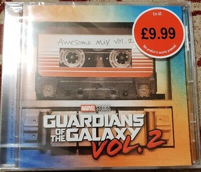 Guardians Of The Galaxy Awesome Mix Vol. 2 CD Motion Picture Film Soundtrack OST