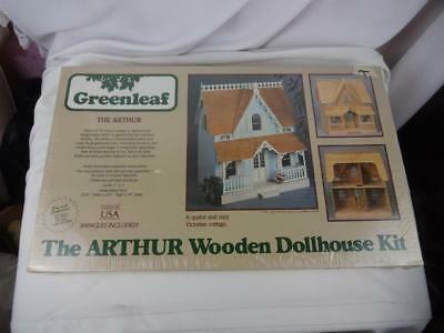 Greenleaf Wooden Dollhouse Kit -The Arthur 8012 Sealed Box -Complete 1:1 Scale