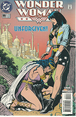 Dc #99 Early July 95  Wonder Woman Unforgiven!