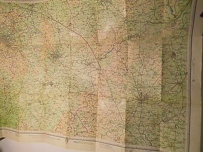 Warwickshire 1929-1954-Topographic Map: Bartholomews Old Railways And Old Roads