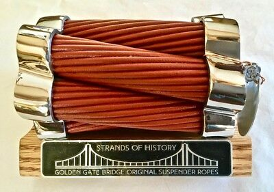Original Golden Gate Bridge Suspender Ropes (Cables) for San Francisco Decor