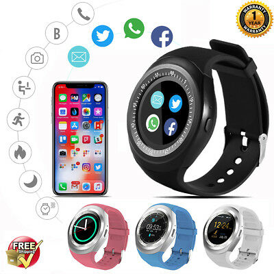 Alfawise 696 Y1 Bluetooth Smart watch Phone Mate SIM Slot For iphone IOS Android