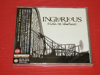 2019 INGLORIOUS RIDE TO NOWHERE  with bonus track JAPAN CD