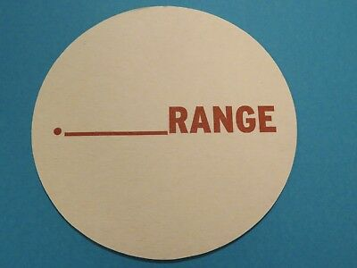 POINT BLANK RANGE BEER PVC Morale Patch - HOOK BACKED