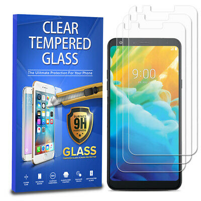Tempered Glass Screen Protector 3-Pack For LG Stylo 4 / LG Stylo 4 Plus
