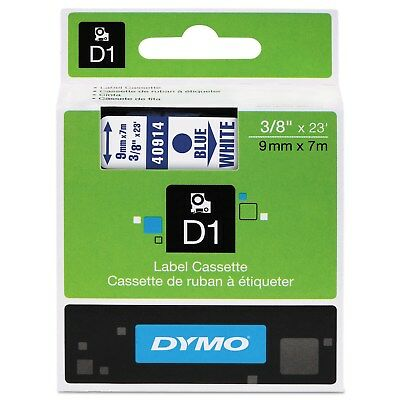DYMO D1 High-Performance Polyester Removable Label Tape 3/8-inch x 23-feet Blue