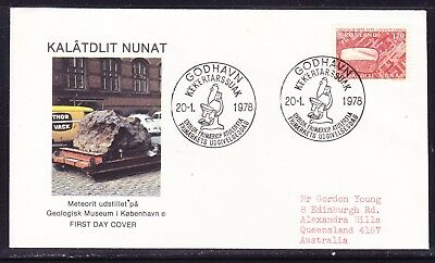 Greenland  1978 Scientific Research First Day Cover to  Australia