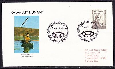 Greenland 1979 Internal Autonomy First Day Cover to  Australia