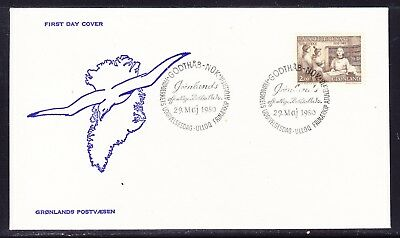 Greenland 1980 Public Libraries First Day Cover Unaddressed