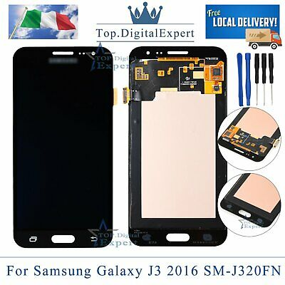 LCD Display Nero Per Samsung Galaxy J3 2016 J320F J320FN Touch Screen Schermo