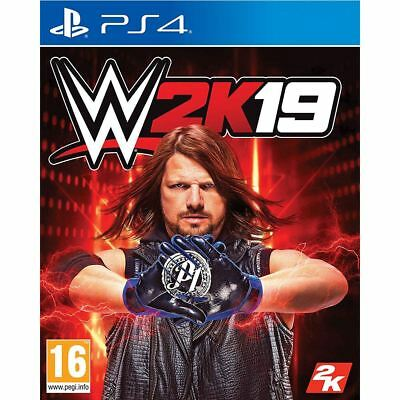 2K Games  WWE 2K19  Wrestling Video Game For Playstation 4 PS4 For Ages 16+