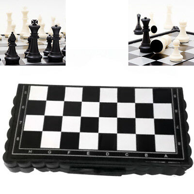 Magnetic Folding Board Travel Portable Tournament Chess Set Kids Gift Toy TALK