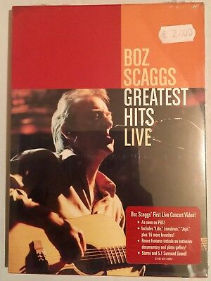 Boz Scaggs ‎– Greatest Hits Live - DVD