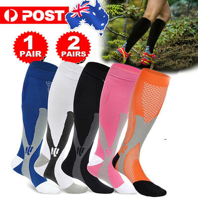 Medical Compression Socks Anti Fatigue Unisex Travel DVT Comfort Thigh Stockings