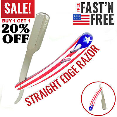 Straight Barber Edge Steel Razors Folding Shaving Knife With 2 Years Warranty