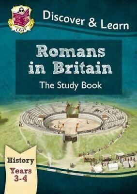 KS2 Discover & Learn: History - Romans in Britain Study Book, Y... 978178294