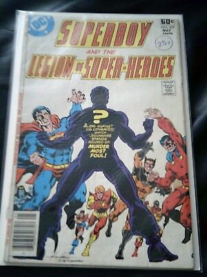 Superboy & The Legion Of Super-Heroes #239 May 1978 (FN+) Bronze Age