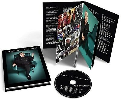 PAUL WELLER CD True Meanings DELUXE EDITION -  2018 BOOK EDITION - IN STOCK