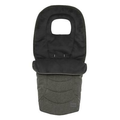 BabyStyle Oyster 3 Footmuff (Pepper) - Cosytoes & Seat Liner