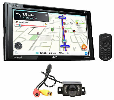 "JVC KW-M845BW 6.8"" Wireless Apple CarPlay+Android Car Receiver Bluetooth+Camera"