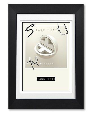 Take That Album Cover Signed Poster Print Photo Autograph Gift Odyssey
