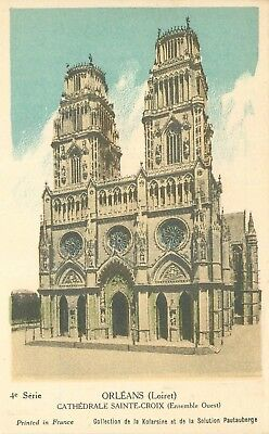 Cp Orleans Cathedrale - Collection Pautauberge