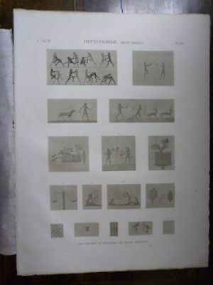 JOMARD DESCRIPTION OF EGYPT Heptanomide…ORIGINAL ETCHING FIRST EDITION 1809