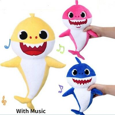 2019 Baby Shark Plush Singing Plush Toys Music Doll English Song Creative Gift