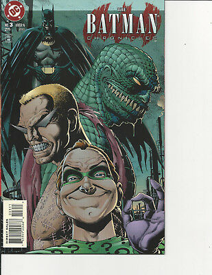 4-Dc #3,4,5,6, 1996 The Batman Chronicels ,contagion All Three Are Nrmt Awesome