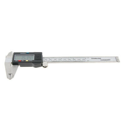 Stainless Steel Electronic Digital Vernier Caliper Gauge Micrometer, 0-150MM
