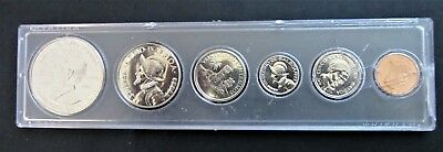 Panama Proof Set (6 Coins) in Whitman Case