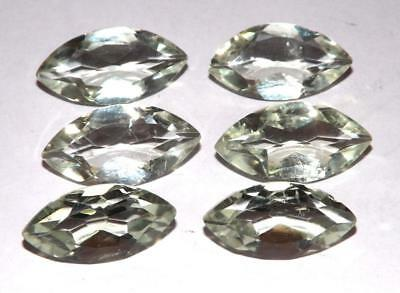 35.90 cts Prasiolite Green Amethyst  100% Natural Gemstone Lot #hga134