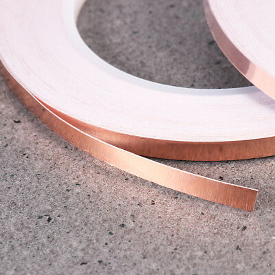 UEETEK 2PCS Copper Foil Tape with EMI Shielding Adhesive for Stained Glass