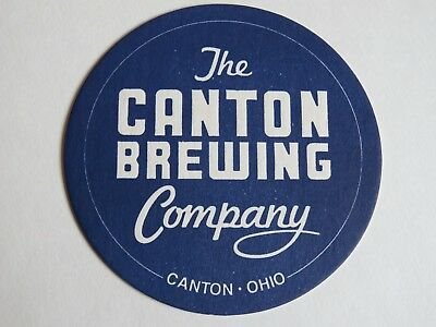 Beer Coaster ~ CANTON Brewing Co ~ OHIO ** Add'l Coasters $0.25 S&H Worldwide