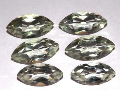28.80 cts Prasiolite Green Amethyst  100% Natural Gemstone Lot #hga136