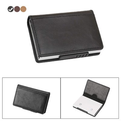 Credit Card Holder Wallet, Side Ejector with up to Five Clip,Slim RFID...