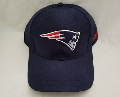 Reebok NFL New England Patriots Embroidered Hat Adjustable Back Cap