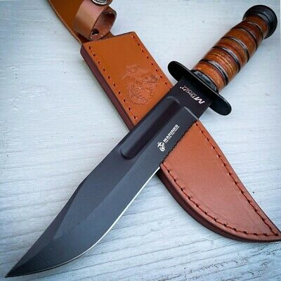 "11"" CSGO Tactical Hunting Tracker FIXED Blade Survival Bowie Knife RED Ruby NEW"