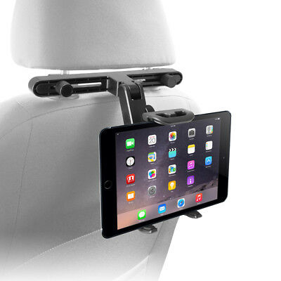 Macally Hrmount Car Seat Headrest Mount Holder Adjustable For Tablet Cell Phone