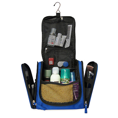 647412b28f0727 Spacious Premium Toiletry Bag with hanging hook | Large Travel Kit for men  &.