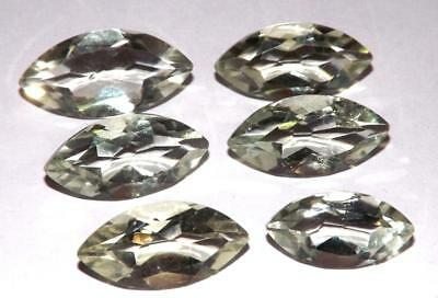 31.70 cts Prasiolite Green Amethyst  100% Natural Gemstone Lot #hga138