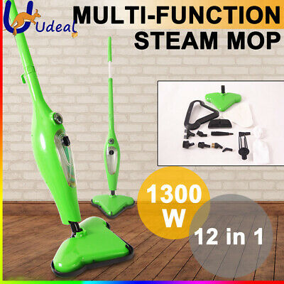 10 in 1 360 degree Steam Mop Floor Cleaner Kitchen Steaming Cleaning Use Water