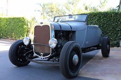 1929 Ford Model A  1929 FORD MODEL A ROADSTER RECENTLY FINISHED  RESTORATION ALL STEEL FORD BODY