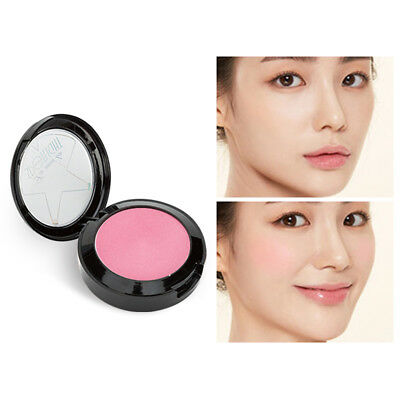 Exquisite Blushes Waterproof Brighten Skin Colour Powder Blusher Face Cosmetics